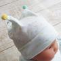 ベビー 赤ちゃん 日本製 帽子 キャップ フード