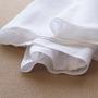 布おむつ ドビー織り 水玉柄 仕立て上がり 輪おむつ オムツ布 日本製 10枚入りセット 新生児 赤ちゃん 白 ホワイト 無地 綿100%