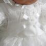 日本製 新生児 赤ちゃん ベビードレス セレモニードレス 豪華デザイン