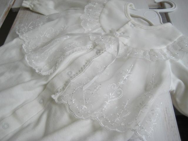 ベビードレスの洗濯